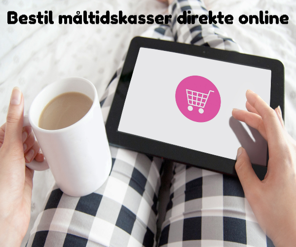 Bestil måltidskasser direkte online