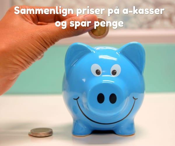 Sammenlign priser på a-kasser og spar penge